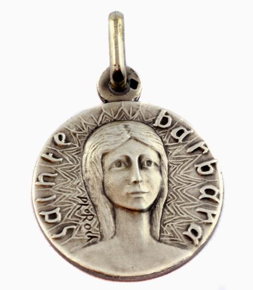 Medaille sainte barbara