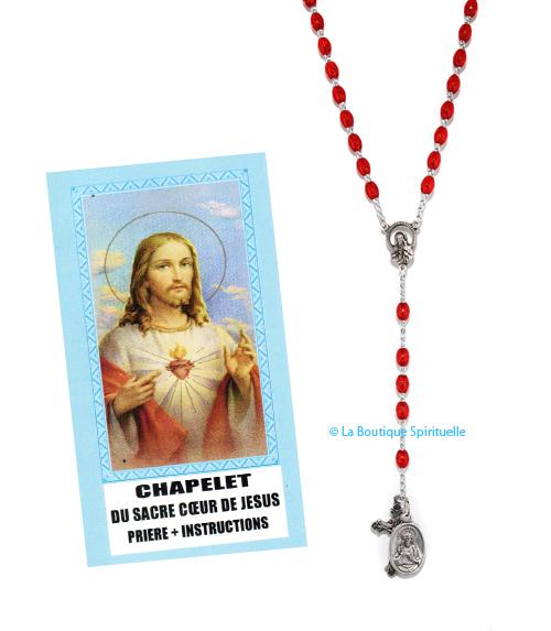 Chapelet sacr�-coeur de j�sus