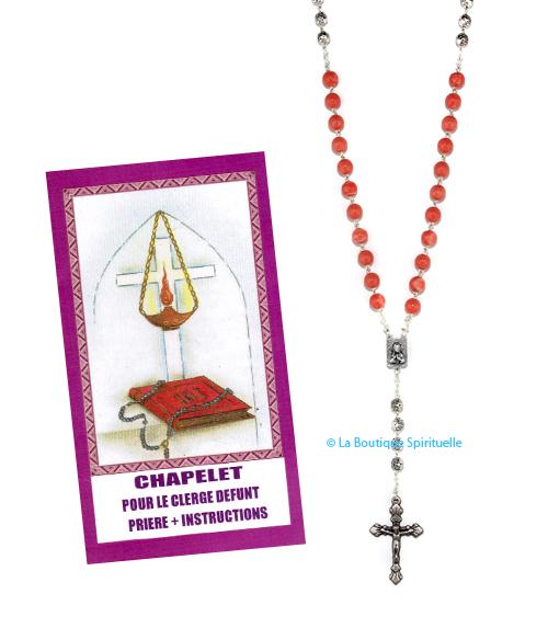 Chapelet clergé défunt