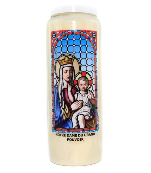 Bougie Notre Dame du Grand Pouvoir