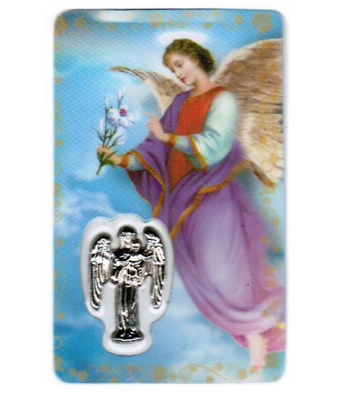 Carte de priere ange gabriel - année 2020