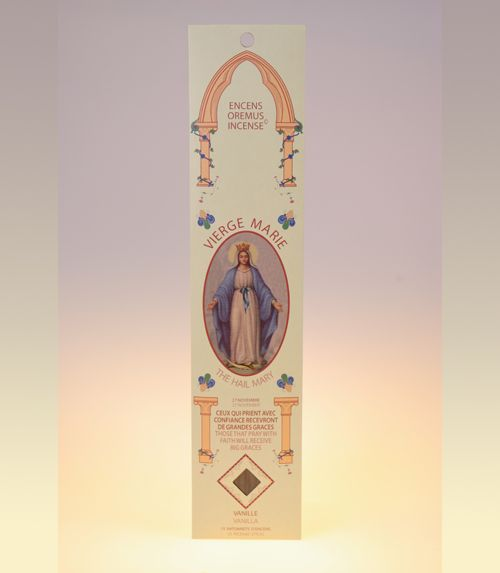 Encens ave maria Notre Dame des Miracles (vanille)