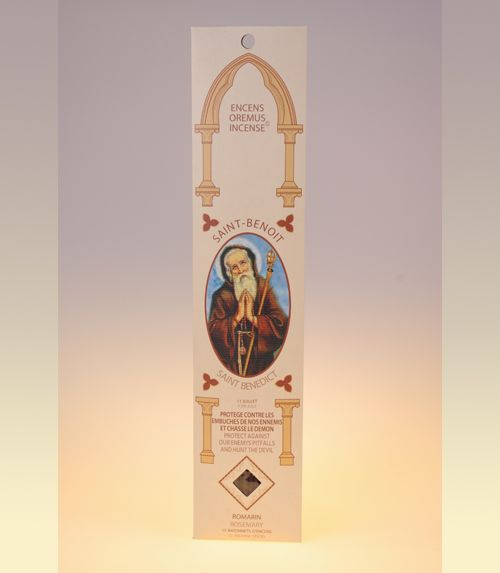 Encens sanctus Saint Benoît (romarin)