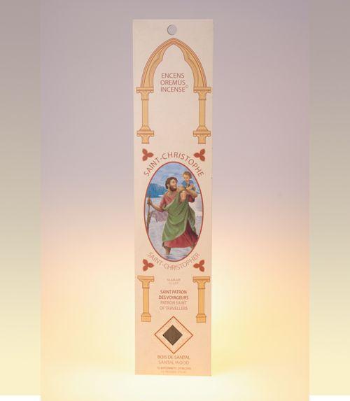Encens sanctus Saint Christophe (santal)