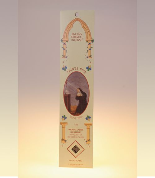 Encens sanctus - sainte rita (ylang-ylang)