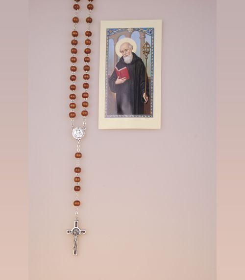 Chapelet Saint Beno�t en bois