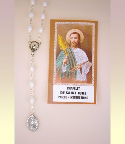 Chapelet saint jude