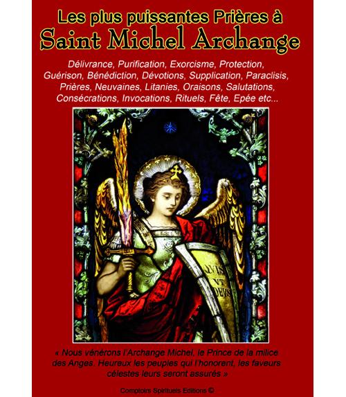 les plus puissantes prières à saint michel archange
