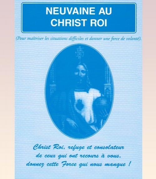 Neuvaine Christ Roi