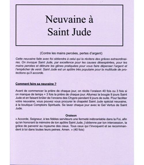 Neuvaine Saint Jude