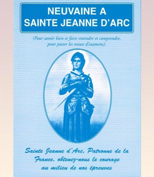 Neuvaine Sainte Jeanne-d'Arc