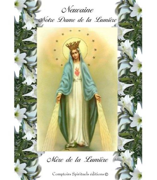 Neuvaine Notre Dame de la Lumi�re