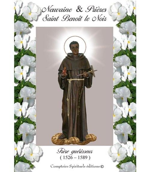 Neuvaine saint Benoît le Noir (1526 - 1589)