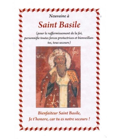 Neuvaine à Saint Basile