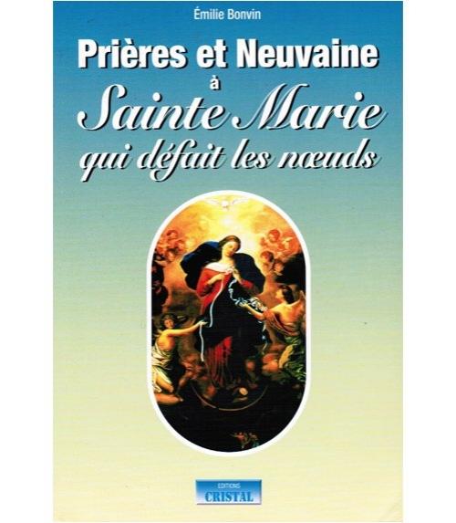 Livre pri�res et neuvaine Marie qui D�fait les Noeuds (175 pages)