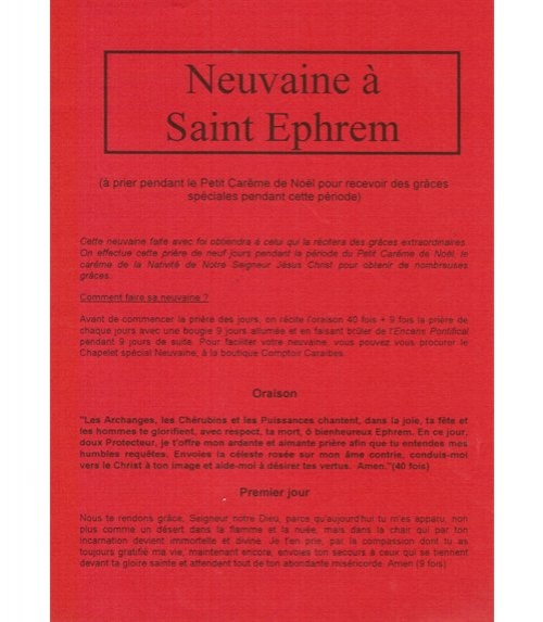 Neuvaine Saint Ephrem (2)