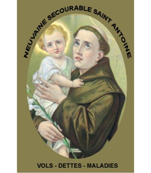 Neuvaine Secourable Saint Antoine