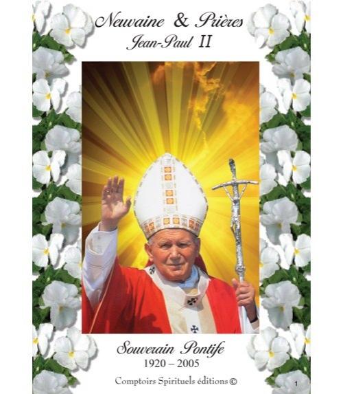 Neuvaine Saint Jean-Paul II (1920-2005)