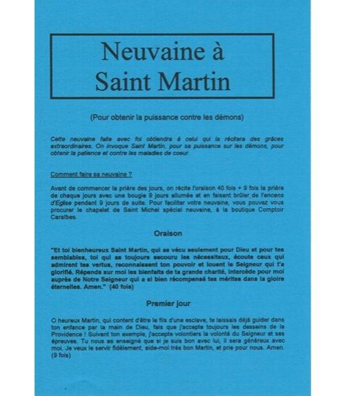 Neuvaine Saint Martin