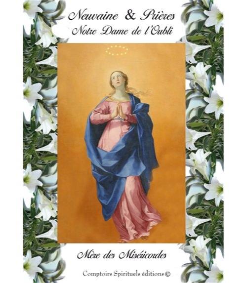 Neuvaine Notre Dame de l'Oubli