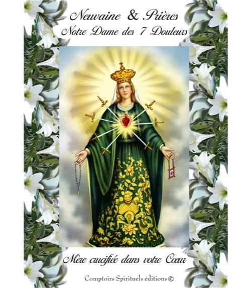 Neuvaine Notre Dame des 7 Douleurs