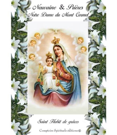 Neuvaine Notre Dame du Mont Carmel