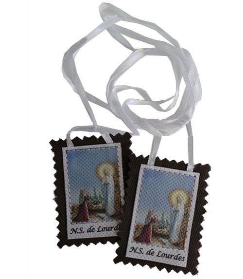 Scapulaire Marie de Lourdes