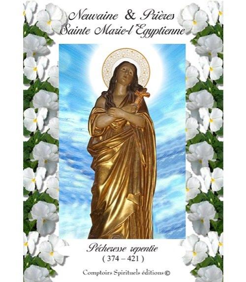 Neuvaine Sainte Marie-l'Egyptienne (374 - 421)