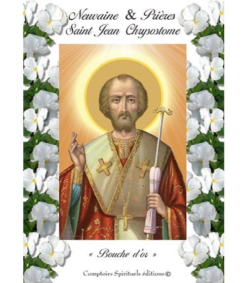 Neuvaine Saint Jean Chrysostome