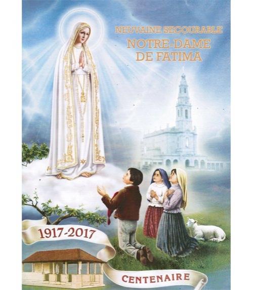 Neuvaine Secourable notre dame de fatima Centenaire des Apparitions 1907-2017