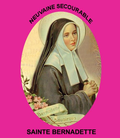 neuvaine secourable Sainte Bernadette