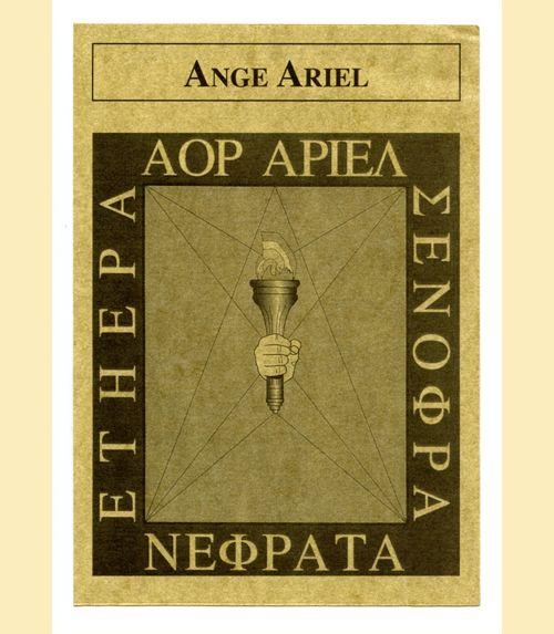 Pentacle ange ariel - année 2021